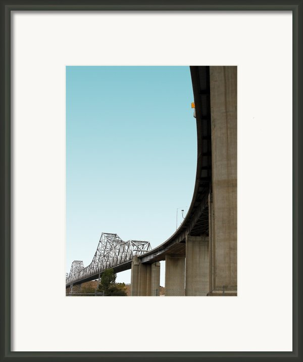 The Old Carquinez Bridge . 7d8832 Framed Print By Wingsdomain Art And Photography