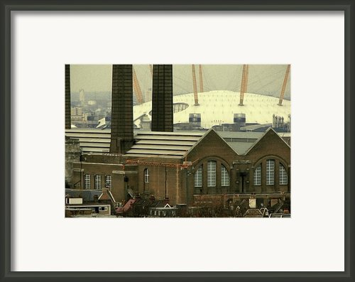 The Old Factory Framed Print By Christo Christov