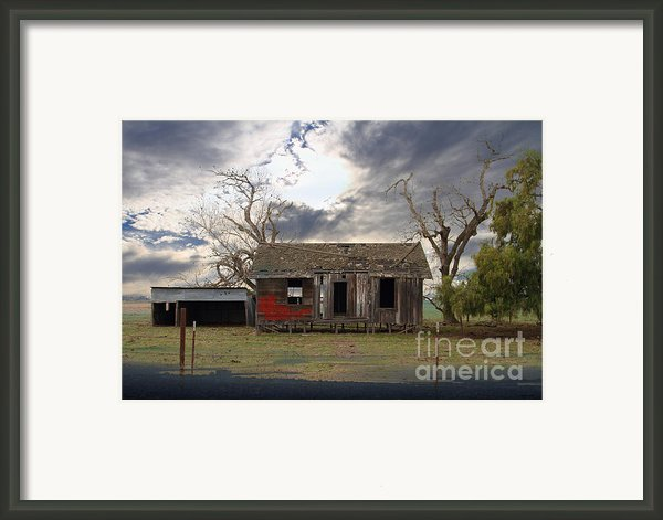 The Old Farm House In My Dreams Framed Print By Wingsdomain Art And Photography