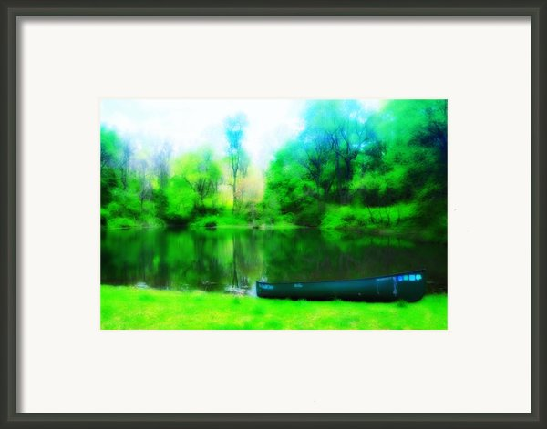 The Old Fishin Hole Framed Print By Bill Cannon