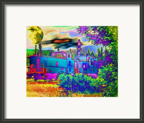 The Old Santa Fe Framed Print By Joyce Dickens