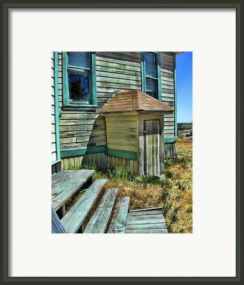 The Old Schoolhouse Framed Print By Bonnie Bruno