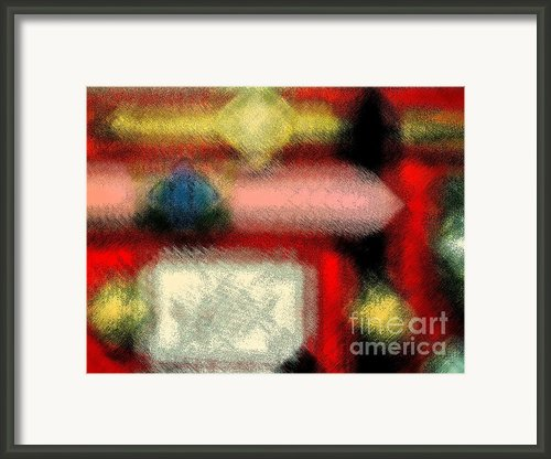 The Only Reason Framed Print By Gwyn Newcombe