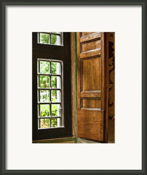 The Open Window Framed Print By Lynn Andrews
