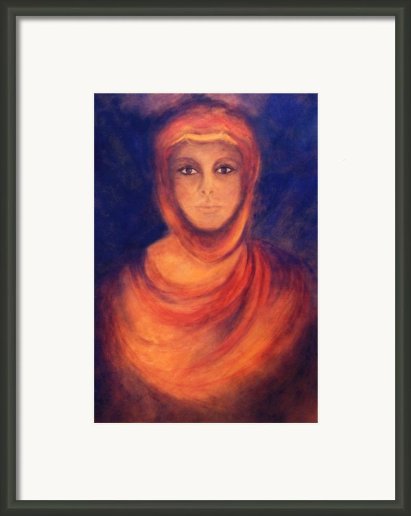 The Oracle Framed Print By Marina Petro