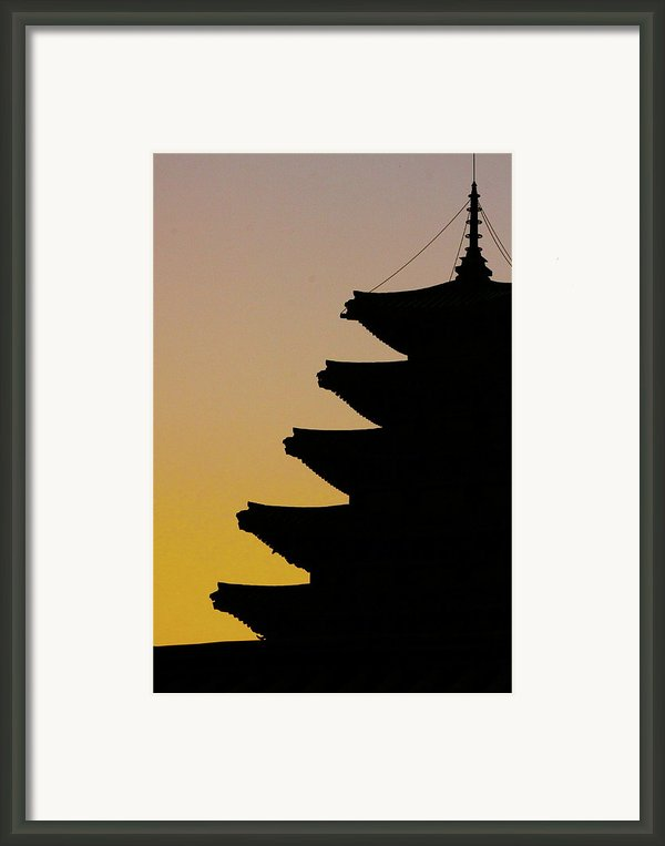 The Pagoda At Gyeongbukgong In Seoul Framed Print By Photography By Simon Bond