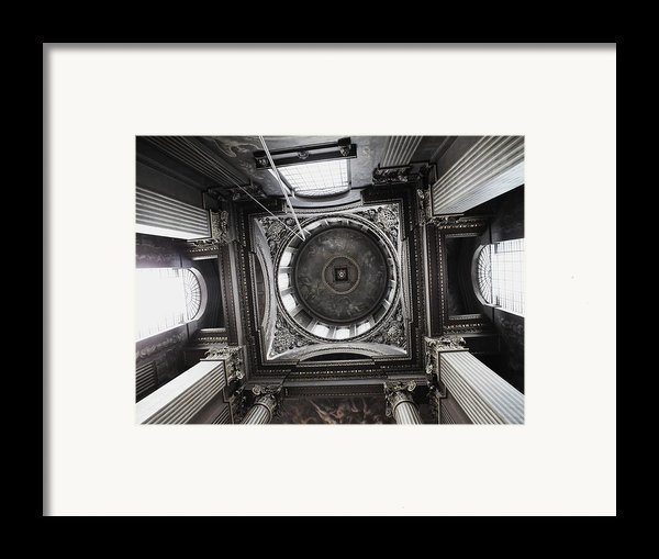 The Painted Hall Framed Print By Anna Villarreal Garbis