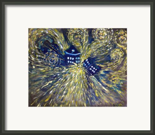 The Pandorica Opens Framed Print By Alizey Khan