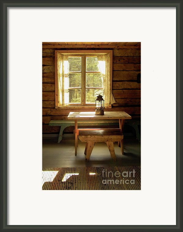 The Parlour Framed Print By Heiko Koehrer-wagner