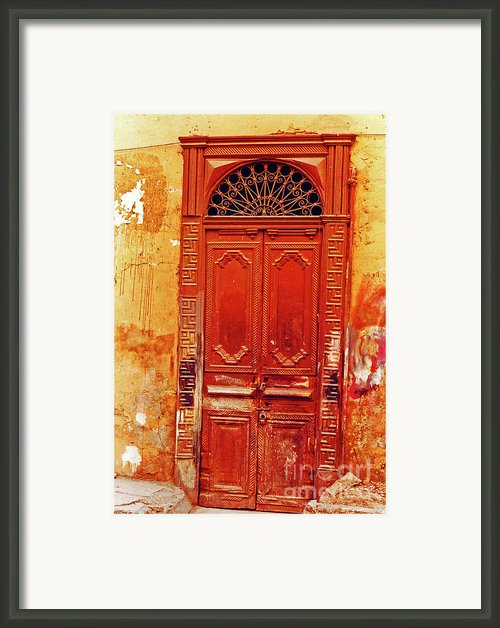 The Passageway Framed Print By Elizabeth Hoskinson