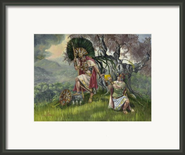 The Passing Framed Print By Jeff Brimley