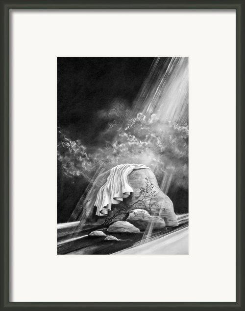 The Passion Framed Print By Denise Armstrong