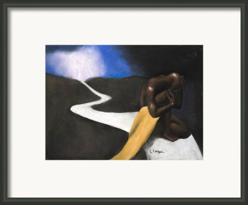 The Path Framed Print By L Cooper
