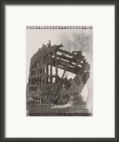 The Peter Iredale 4 Framed Print By Chalet Roome-rigdon