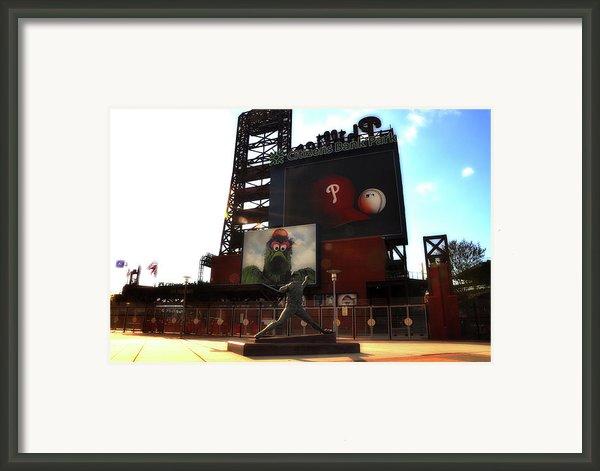 The Phillies - Steve Carlton Framed Print By Bill Cannon
