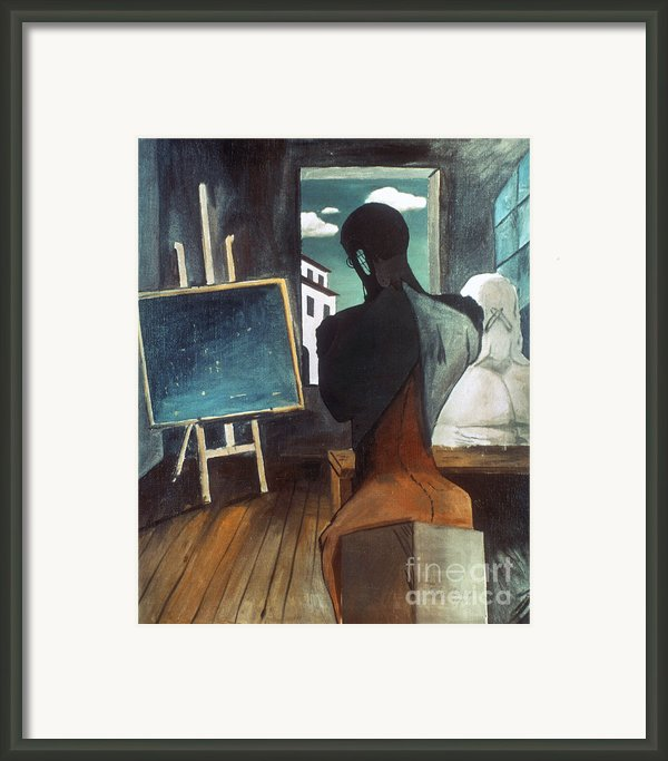 The Philosopher And The Poet Framed Print By Granger