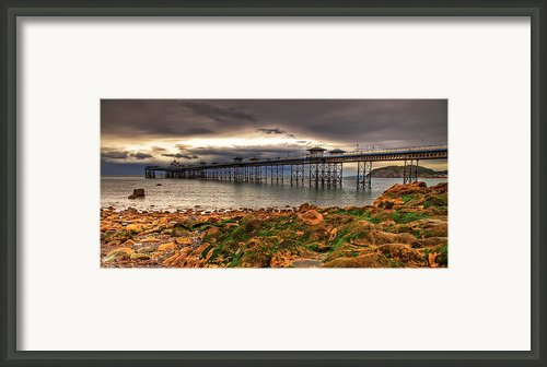 The Pier Framed Print By Adrian Evans