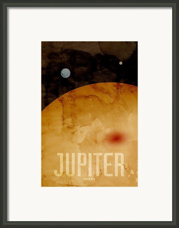 The Planet Jupiter Framed Print By Michael Tompsett