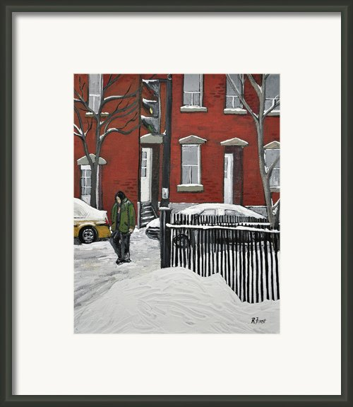 The Point Framed Print By Reb Frost