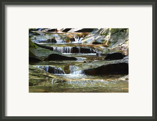 The Potholes Framed Print By Virginia Folkman