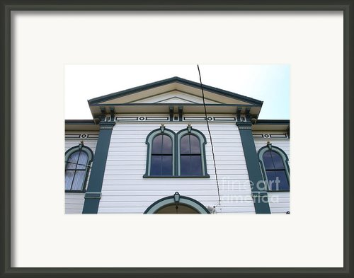 The Potter School House . Bodega Bay . Town Of Bodega . California . 7d12482 Framed Print By Wingsdomain Art And Photography