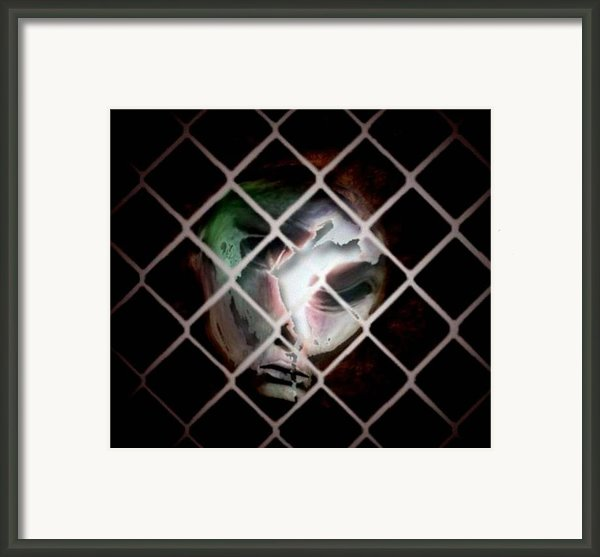 The Prisoner Framed Print By Gun Legler