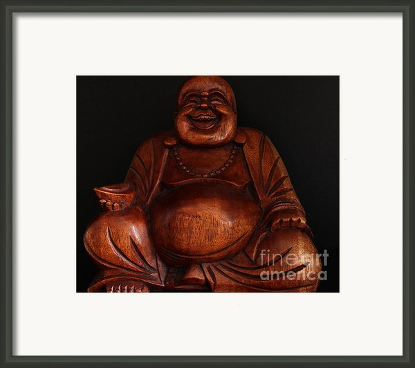 The Protector Of Wealth Framed Print By Nancy Harrison