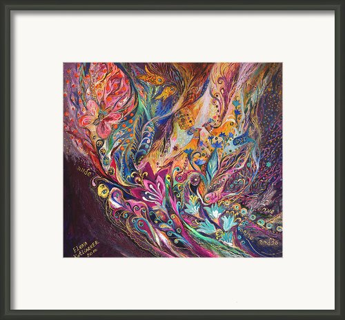The Purple Stream Framed Print By Elena Kotliarker