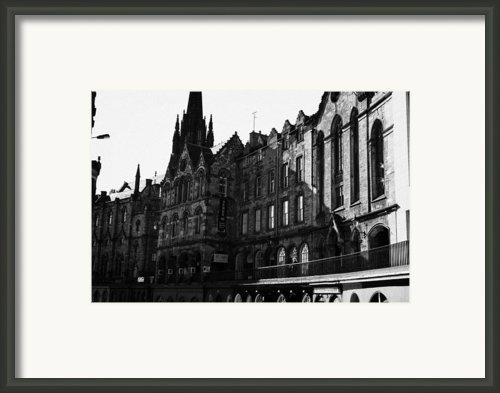 The Quaker Meeting House On Victoria Street Edinburgh Scotland Uk United Kingdom Framed Print By Joe Fox