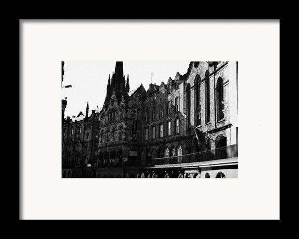 The Quaker Meeting House On Victoria Street Edinburgh Scotland Uk United Kingdom Framed Print By Joe Fox