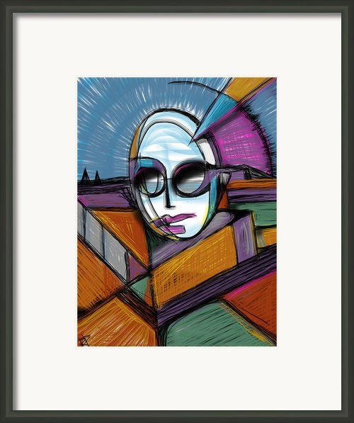 The Queen Framed Print By Russell Pierce