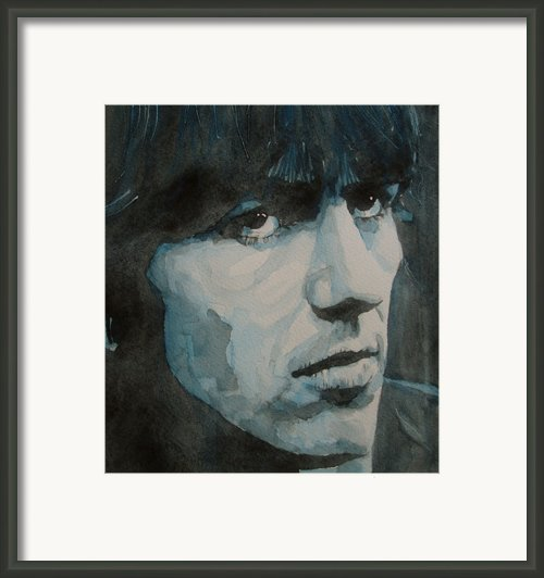 The Quiet One Framed Print By Paul Lovering