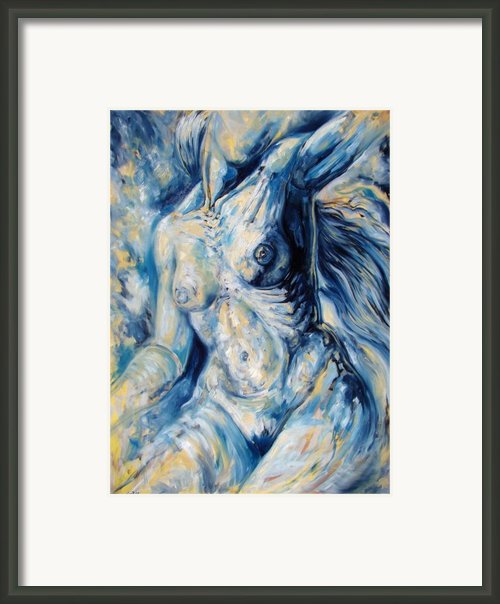 The Re-invention Of The Human Figure Ii Framed Print By Darwin Leon
