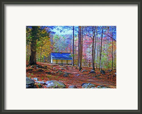 The Reagan House Framed Print By Paul Mashburn