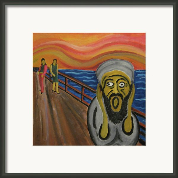 The Real Terror Framed Print By Darren Stein