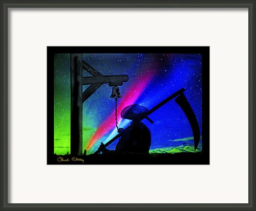 The Reaper Framed Print By Chuck Staley