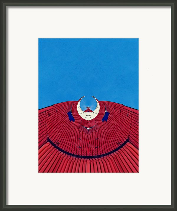 The Red Dress - Archifou 71 Framed Print By Aimelle