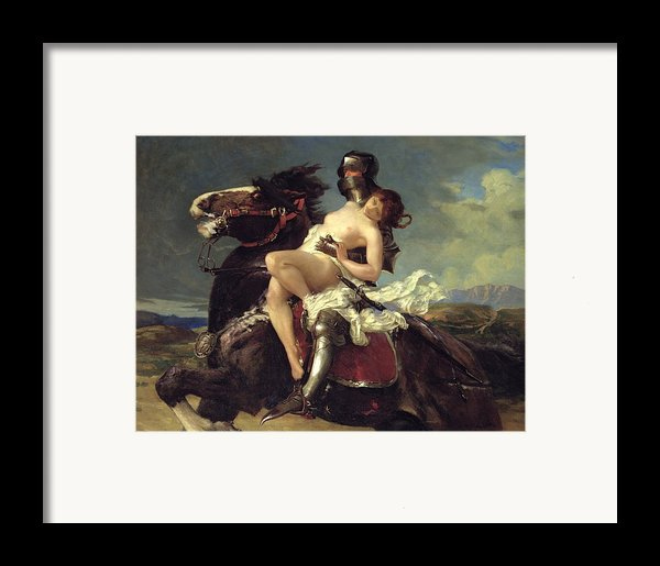 The Rescue Framed Print By Vereker Monteith Hamilton