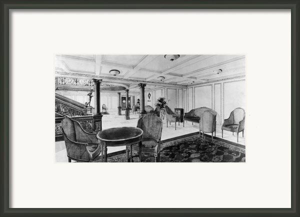 The Restaurant Reception Room Framed Print By Everett