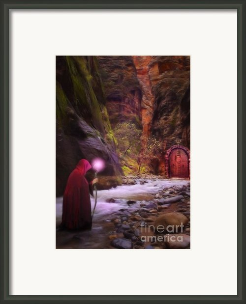 The Road Less Traveled Framed Print By John Edwards