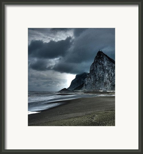 The Rock ... Framed Print By Juergen Weiss