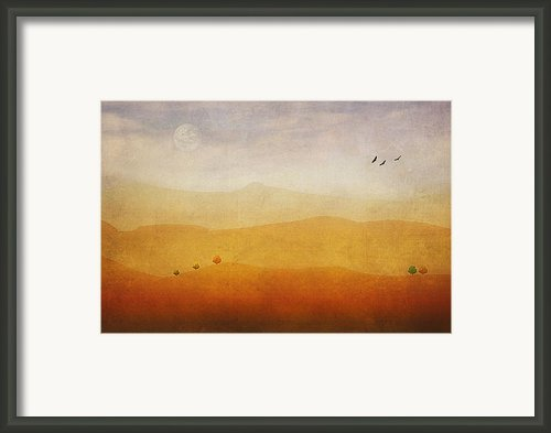 The Rolling Hills Framed Print By Thomas York