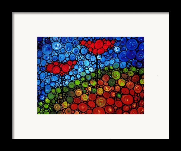 The Roots Of Love Run Deep Framed Print By Sharon Cummings