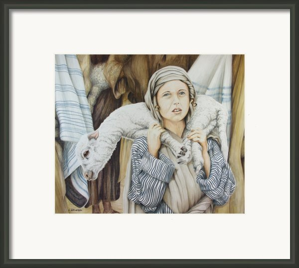 The Sacrifice Framed Print By Rick Ahlvers