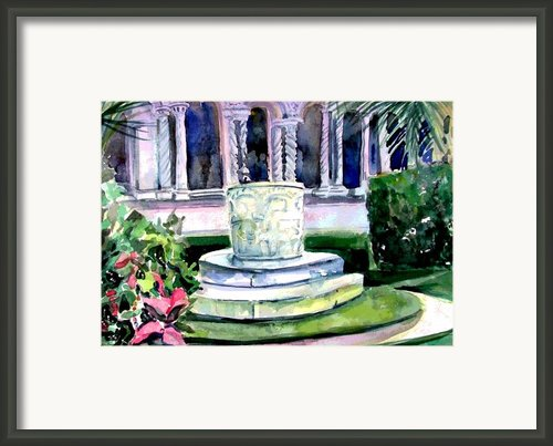 The Samaritan Woman Well Framed Print By Mindy Newman