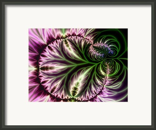 The Satin Leaf Framed Print By Mila Agirre