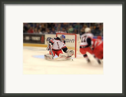 The Save Framed Print By Karol  Livote