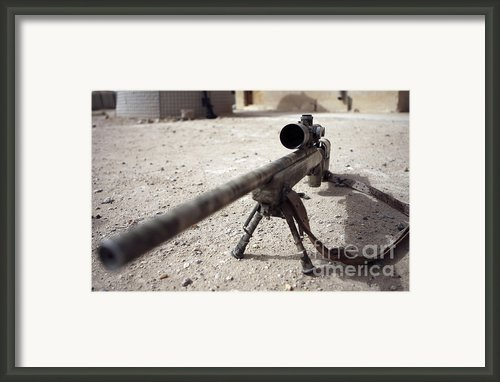 The Schmidt & Bender M-854155 Ds Scout Framed Print By Stocktrek Images