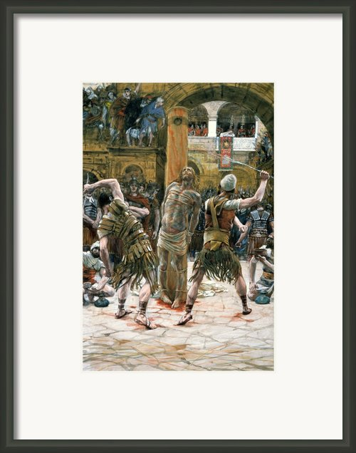 The Scourging Framed Print By Tissot