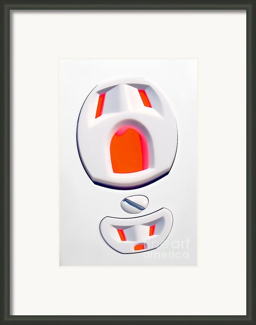 The Scream - Electric Framed Print By Olivier Le Queinec